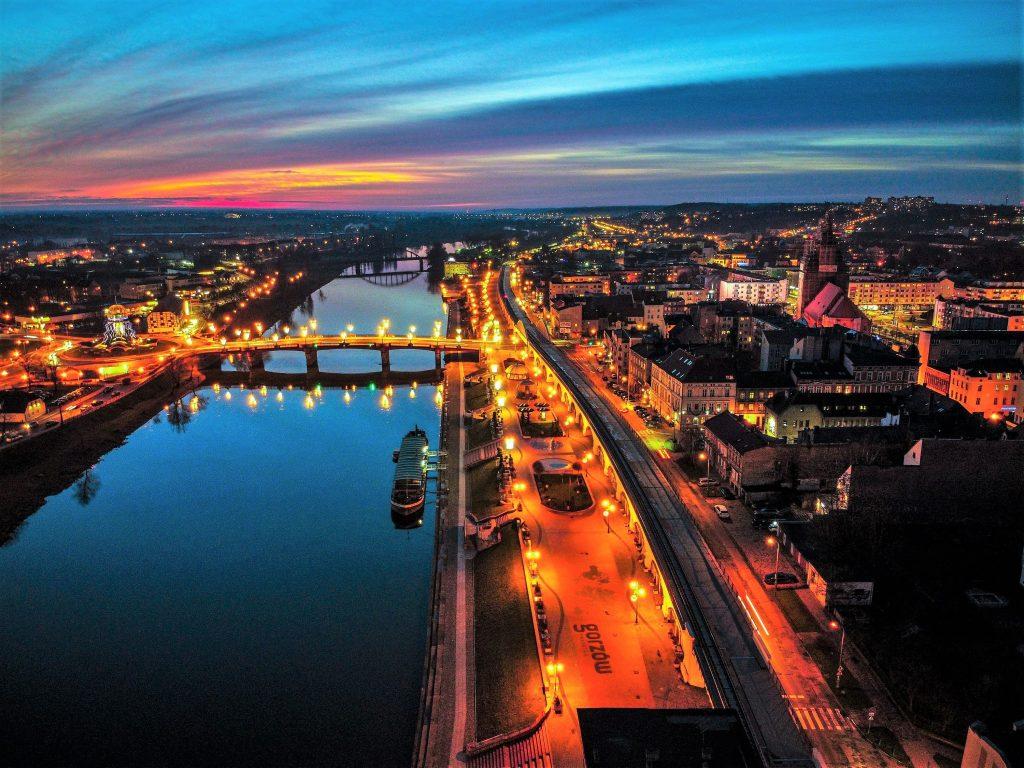gorzow wielkopolski centrum miasta